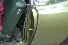 The repair turned out nice and the door shut great again, it wasn't before
