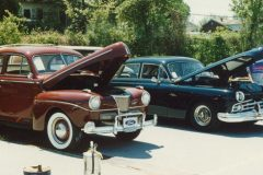 41 Ford and 49 Lincoln Cosmo