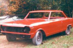 1964 Nova II paint job for body only, customer will assemble