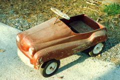 Late 40's Pedal Car needing a restore