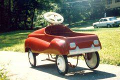 40's Pedal car got restored