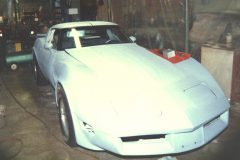 1980 Corvette Primered and Ready to sand and paint