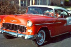 1955 Chevy 2 door Hard Top Finished and going home