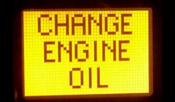 Resetting The Change Oil Light