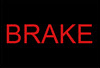 what you should do if the brake light comes on