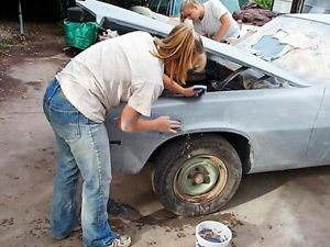 how to wet sand a car