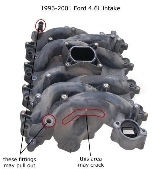 4.6L Intake Manifold Replacement