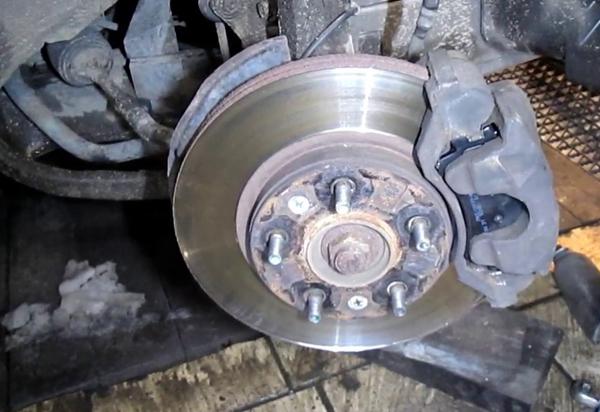 2004 Mazda 6 Front Brakes