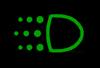 daytime running lights indicator