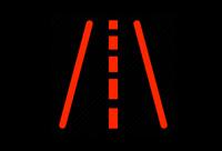 lane departure dashboard light