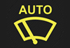 automatic wiper rain sensor light