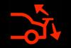 rear spoiler indicator light