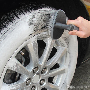 how to wash a tire