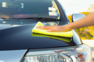 how to towel dry a car
