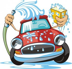 properly washing a car