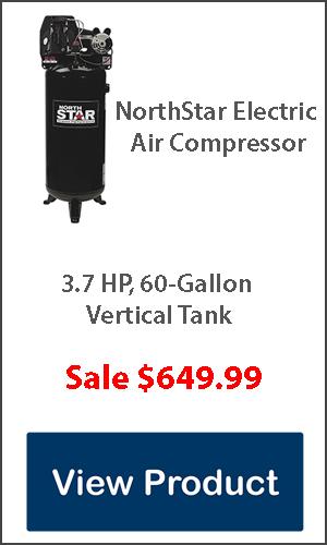 3.7hp 60 gallon air compressor for sale