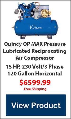 15hp 120 gallon air compressor for sale