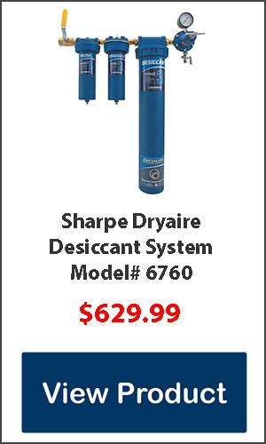 desiccant dryer water filter for air compressor