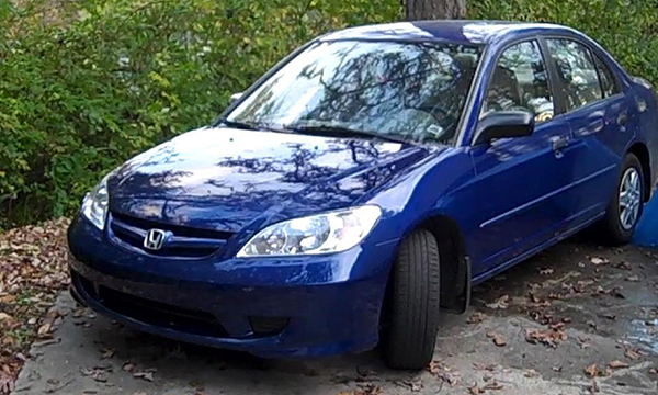 how to paint a 05 honda civic