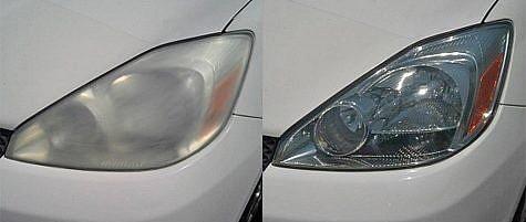 Headlamp Lens Restore