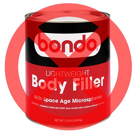 Mix Auto Body Filler